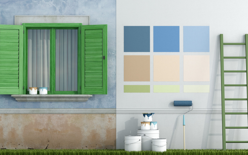 How to Choose Between Exterior Paint Colors