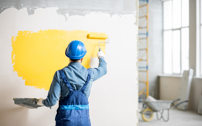 preparing for commercial painters
