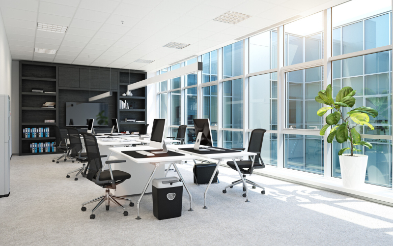 redecorate to improve your office environment