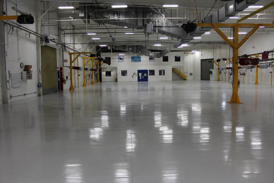 Riverside UTC Aerospace Industrial Flooring Project